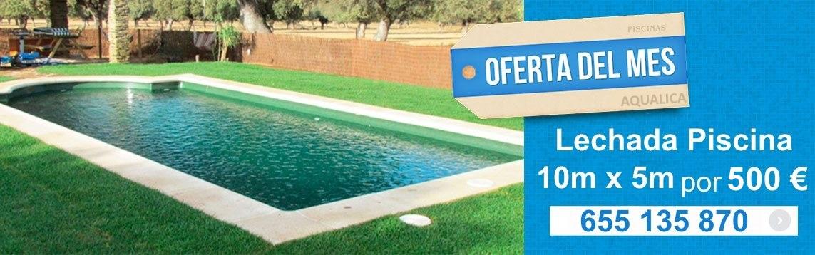 Aqualica lechada piscinas en comunidad de madrid for Oferta piscinas bricomart